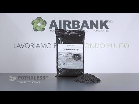 Potholess - Cold eco-asphalt