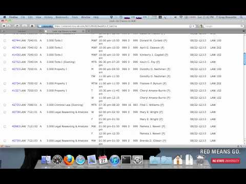 Class Registration How-to for NCCU School of Law [law:/dev/null (03/28/2011)]