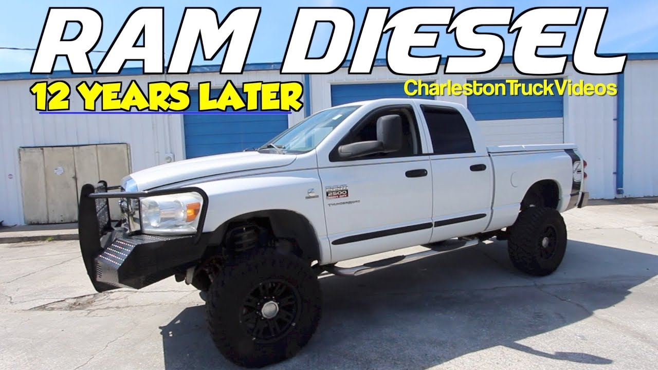 Here's a 2007 Dodge Ram 2500 Cummins 6.7L 4x4 REVIEW & For Sale 12 Years Later!!!