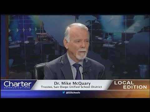 Charter-Cox Local Edition with San Diego USD Trustee Dr. Michael McQuary