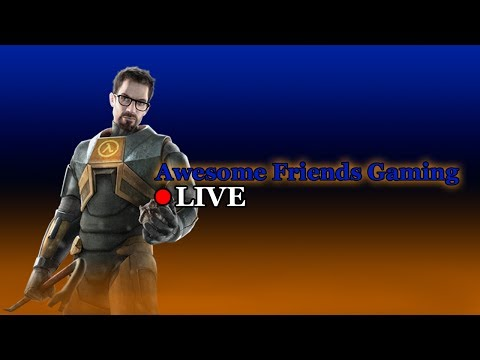 Half-Life With A Steam Controller - Half-Life First Playthrough LIVE