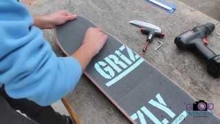 Setting Up My New Skateboard : Stuart Trejos