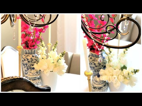 DIY | How To Add Crystal To Your Existing Chandelier