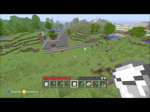 Minecraft for Xbox 360 Part 31 - Making cake, Collecting flowers and milk