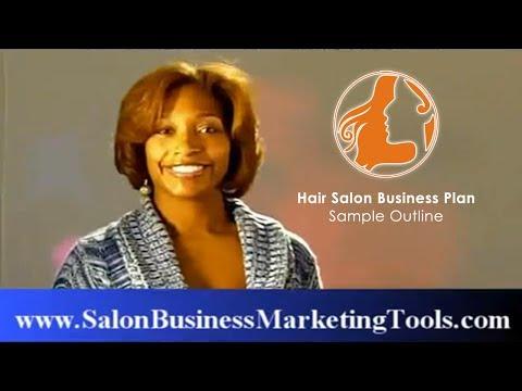 Hair Salon Business Plan Sample Outline