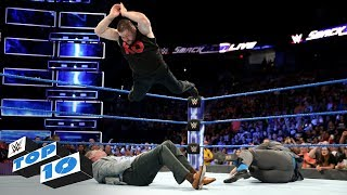 Top 10 SmackDown LIVE moments: WWE Top 10, September 12, 2017