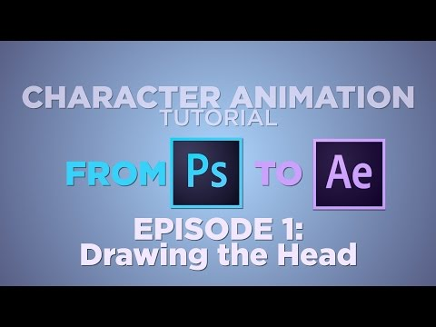 From Photoshop to After Effects - CHARACTER ANIMATION TUTORIAL: EP 1