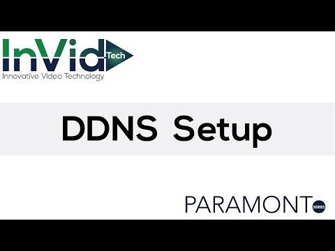 DDNS Setup Training for Paramont DVRs & NVRs