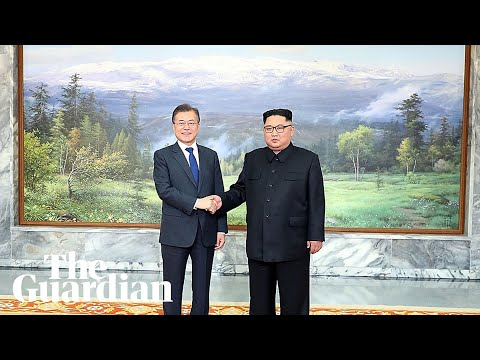 North and South Korean presidents meet to discuss the US summit