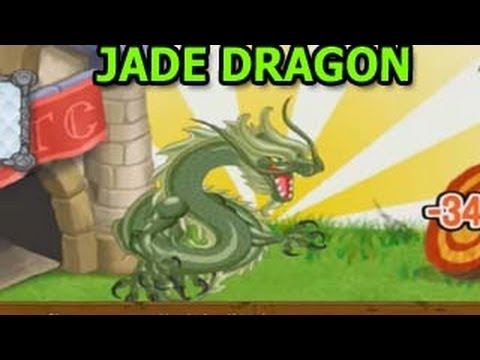 JADE DRAGON How To Get It in dragon City by Breeding Review