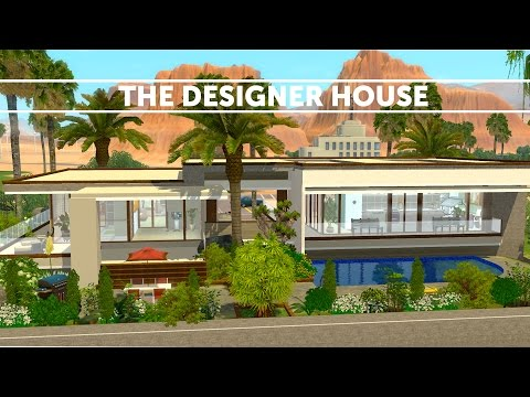 The Sims 3 House Building - The Designer house | Speed build