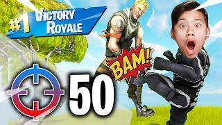 50 ELIMINATIONS!!! Fortnite Victory Royale Disco Domination!