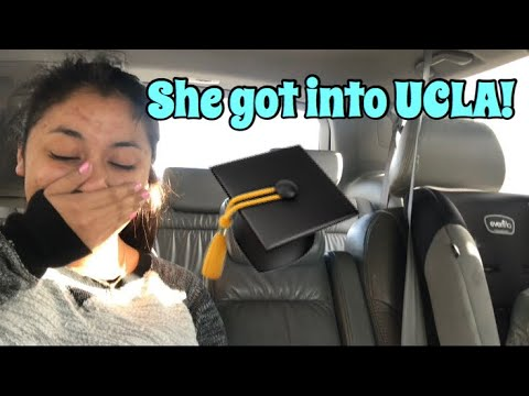 18 YEAR OLD SISTER GETS ACCEPTED TO UCLA!