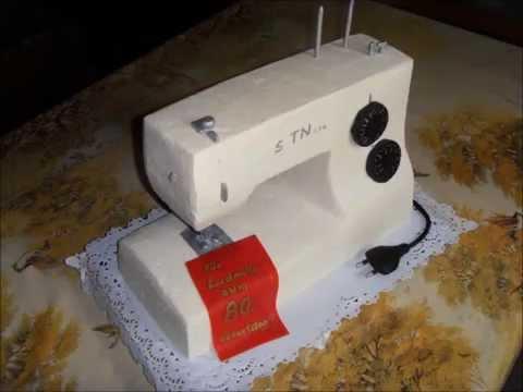 Cake Sewingmachine