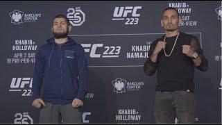 UFC 223: Media Day Faceoffs
