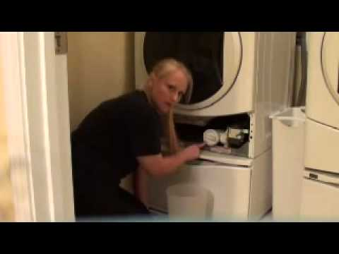 Even a blonde can do it! Quick fix/repair for Kenmore He2 front loading washing machine