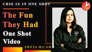 The Fun They Had in One Shot | CBSE Class 9 English Chapter 1 Beehive  | NCERT Solutions | Vedantu