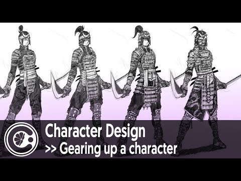 Character Design: Gearing up a character