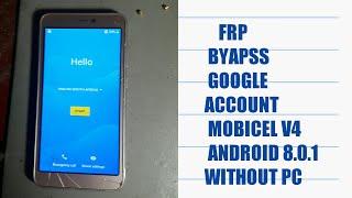 Bypass google account apk mobicel | Bypass Google Account