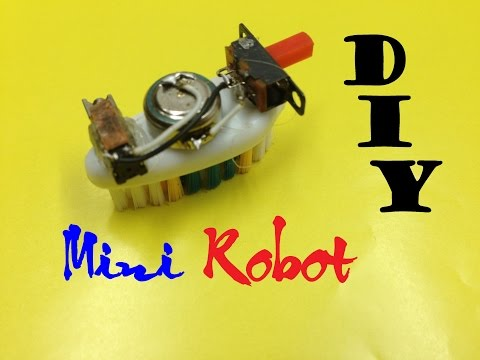 How to make a Floor Cleaner Mini Robot