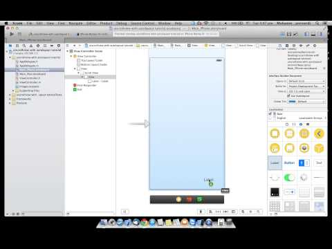 UIScrollView with Autolayout - IOS 7 Xcode 5 Tutorial