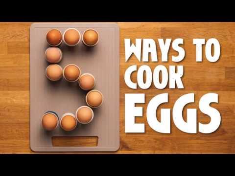 Tasty Video: Boiled Eggs, Scrambled Eggs, Poached Eggs, Omelette & Egg Mayo