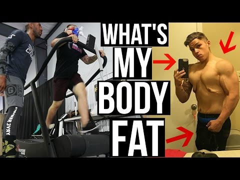 TESTING MY BODY FAT FOR THE FIRST TIME!
