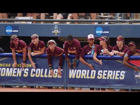Highlights: Arizona State softball falls to Oklahoma in Women's College World Series