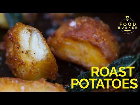 ROAST POTATOES | How to make ultra crisp roast potatoes