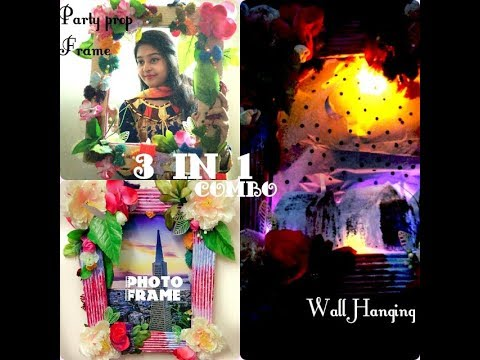 Party prop | Wall Hanging | Photo Frame | 3 in 1 combo