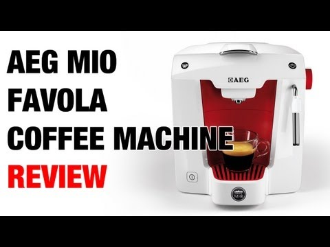 Kitchen Tech - AEG Mio Favola Coffee Machine Review