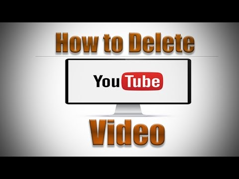 How to Delete a YouTube Video 2016