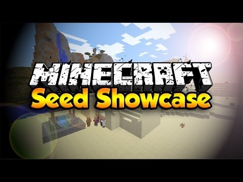 Minecraft 1.7.2 Seed - Villages, Ravines, Desert Temples Oh My!