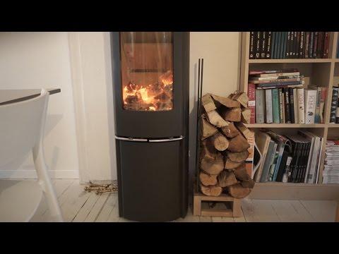 Making Fireplace log holder