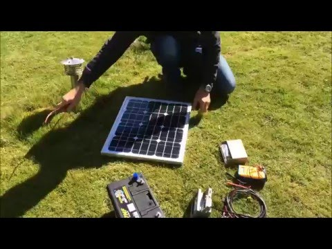 How to set up a solar panel, charge controller and battery - Free Electricity, Part 1