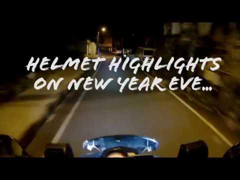 Helmet Highlights On New Year Eve