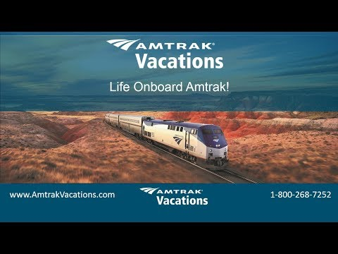Life Onboard Amtrak with Amtrak Vacations (01.24.18)