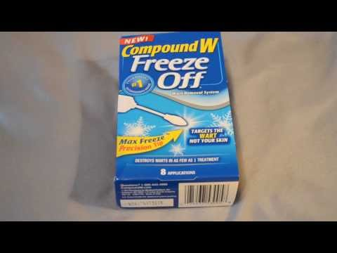 Compound W Freeze Off - Wart Remover Review