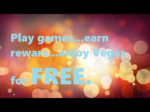 How to earn rewards playing free games with myvegas