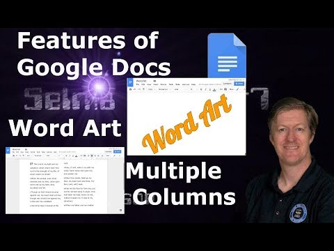 Word Art and Multiple Columns within Google Docs- How to... Mini lesson