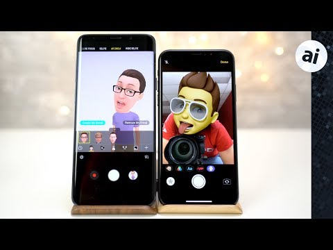 Memoji vs AR Emoji - iPhone X vs. Galaxy S9 Plus