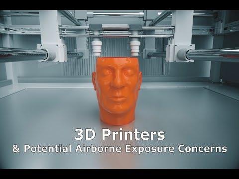 3D Printers & Potential Airborne Exposure Concerns