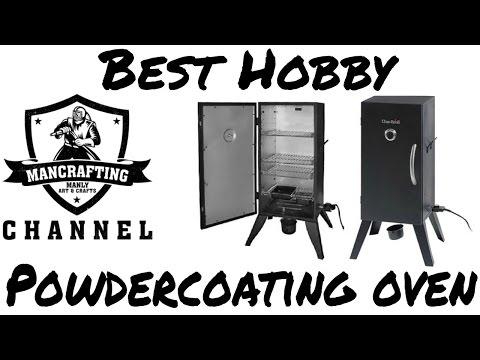 Best Hobby Powder Coating Oven Using 110V
