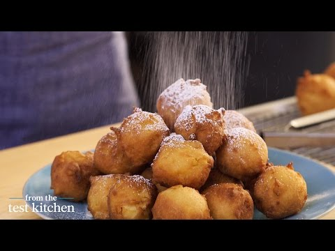 Apple-Studded Fritters - From the Test Kitchen
