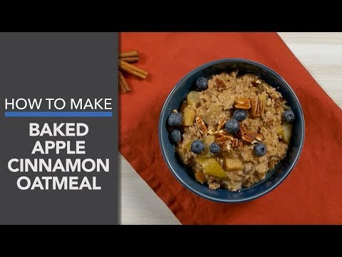 Baked Oatmeal Recipe (With Cinnamon and Apple!)