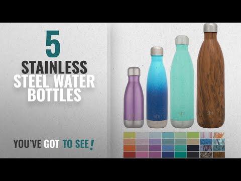 Best Stainless Steel Water Bottles [2018]: Simple Modern Stainless Steel Vacuum Insulated