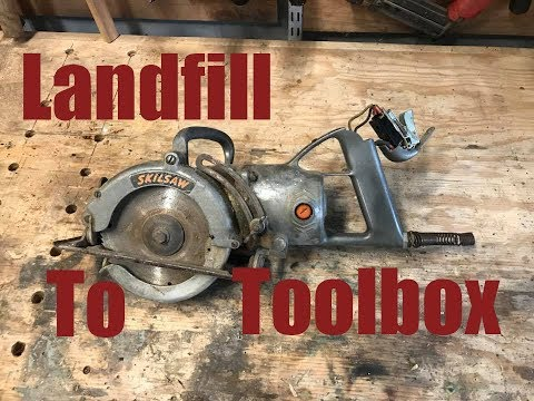 Restoring a 6in Worm Drive Skilsaw