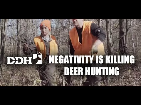 Negativity Is Killing Deer Hunting