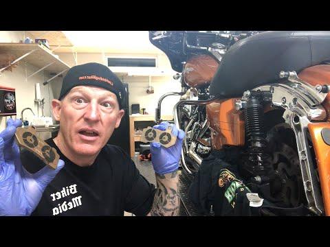 Harley-Davidson Brake Pad Change