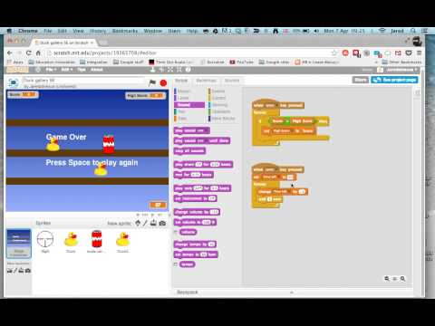 Scratch - Using a timer to end your game